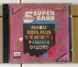 CD Jadul 5 Super Band Indonesia