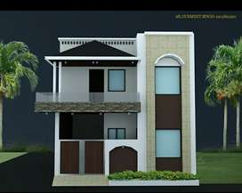 BEAUTIFUL ELEVANTION DESIGNED HOUSE FOR BEST LOCATION