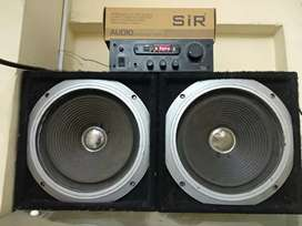 Sir 4440ic amplifier with 10inch speaker