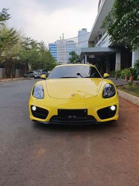 Porsche Cayman 2.7 PDK 2013 Yellow
