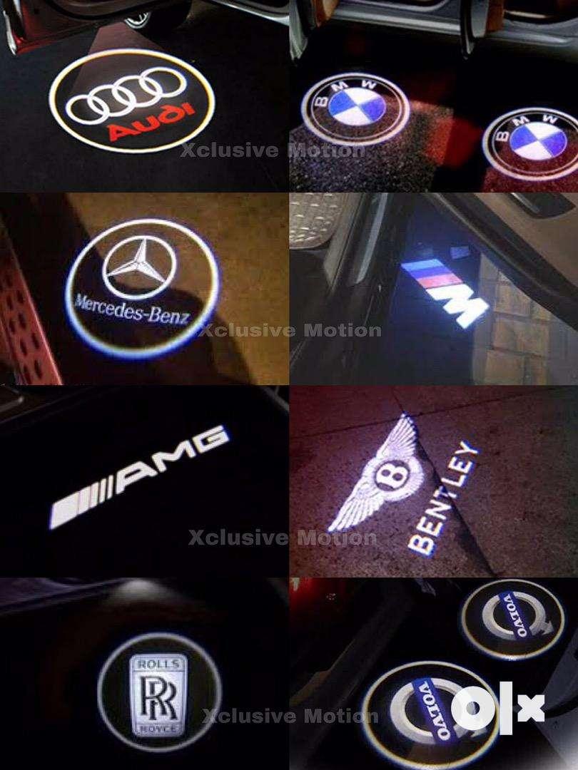 Door welcome lights for Audi BMW Benz Jaguar Maybach Rolls Royce