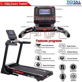 Alat Fitness Treadmill Elektrik Lipat Auto Incline TL126 Mojokerto