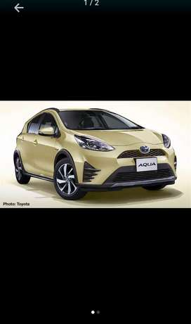 Toyota Aqua get on just 20% down payment main