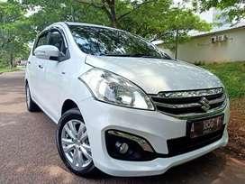 Suzuki Ertiga GX Putih A/T 2016 mulus harga terjangkau & kondisi prima
