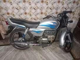 A one bike