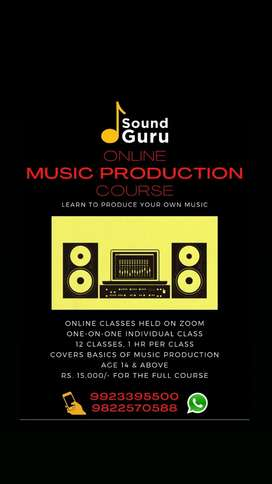 Online Music Production Course