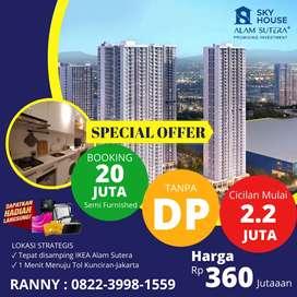 Promo Sky House Alam Sutera