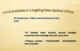 Land near adhar office suitable price