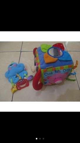 Preloved mainan bayi ks kids & Fisher-Price