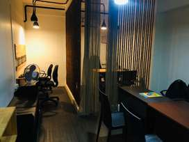 Fully furnished A/C office space for sale.