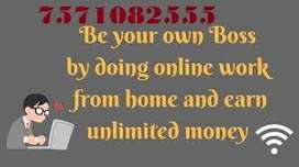 Earn Income for your Pocket Money with Online work as Part Time