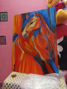 Oil paint canvases available