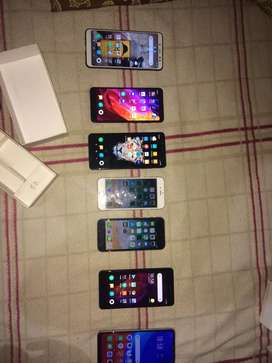 Lightly used redmi's and i phone's for sale