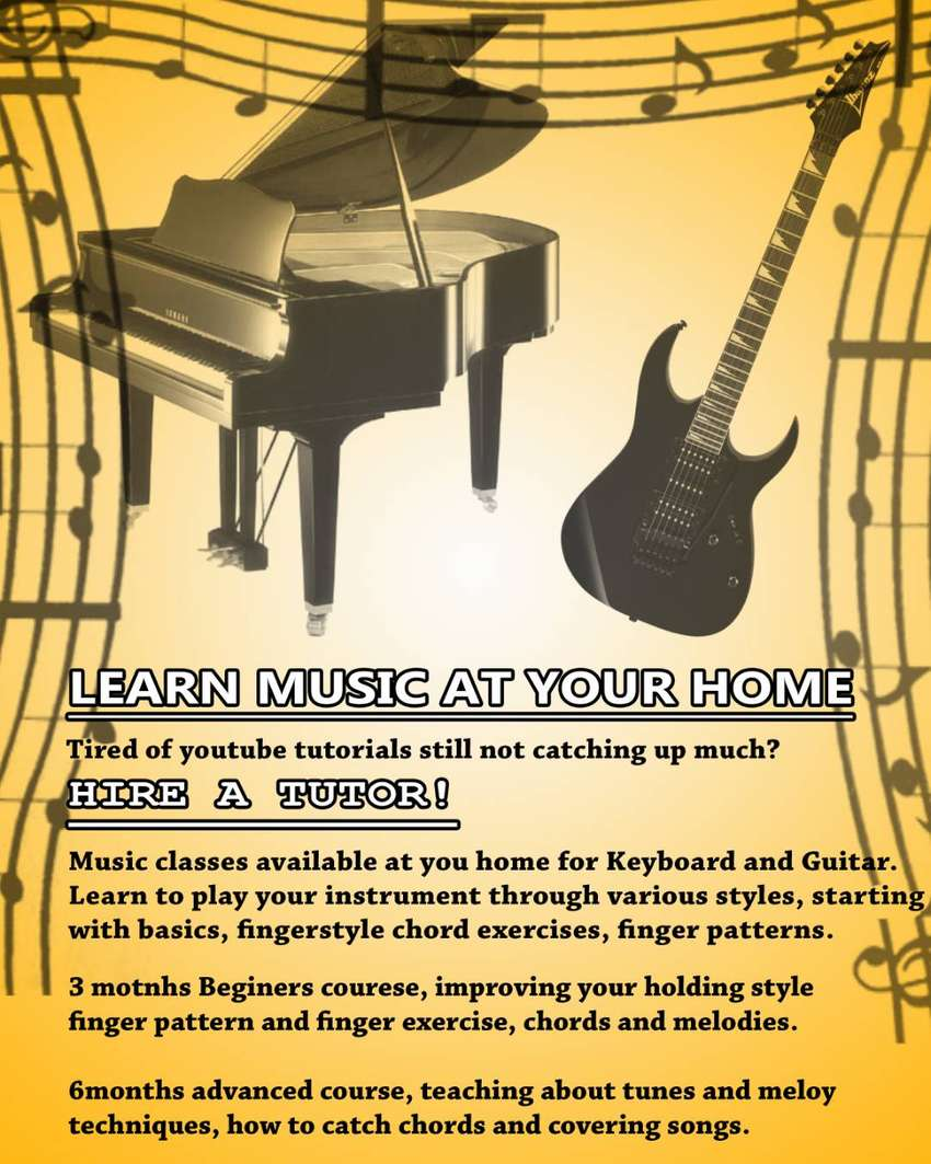 Music Classes at your home 0
