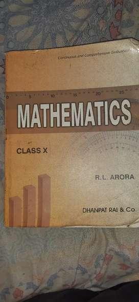 Mathematics class 10 RL ARORA