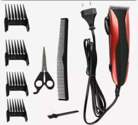 KM-6356 White Professional Kemei Electric Hair Trimmers Hair Clipper
