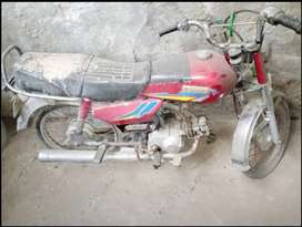 Shohrab Bike Used Condition for Sale also Used in Spare Parts