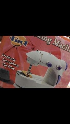 Multi electric 4 in 1 desktop functional sewing machine