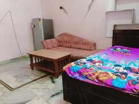 Furnished one bhk portion, chitrkoot Vaishali Nagar