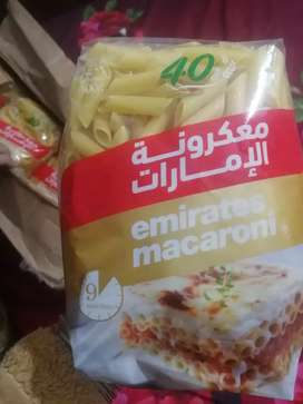 Imported Macaroni. Each pack is of 110rs