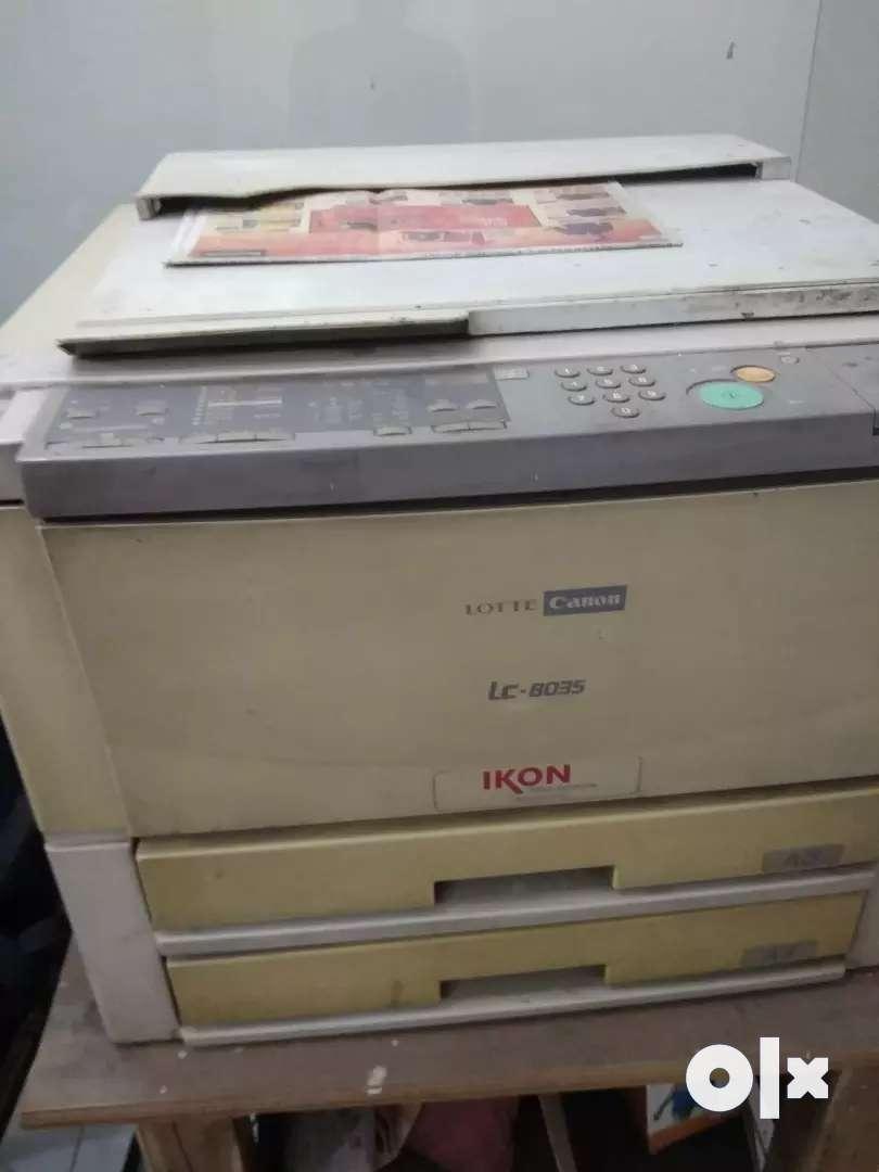 Photocopy machine 0