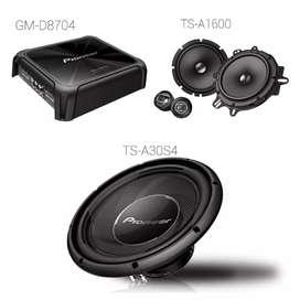 Paket sound pioneer ( Megah top )