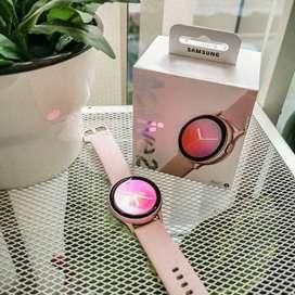 Samsung Galaxy Watch Active 2 40MM Rose Gold - Fullset Super Muluss