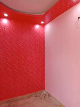 2Bhk independent flat with 90% bank loan facility front side