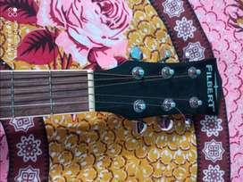 Aquastic Musical Guitar- FILBERT black colour. 2 year old
