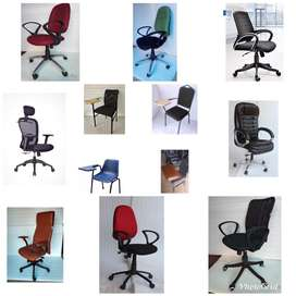 OFFICE CHAIRS AND STUDENT PAD CHAIRS