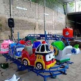 DOV waterboom mainan odong kereta panggung isi 6 bergaransi 1 tahun