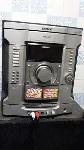 Sony hifi system head unit 3100 whatts 140/140