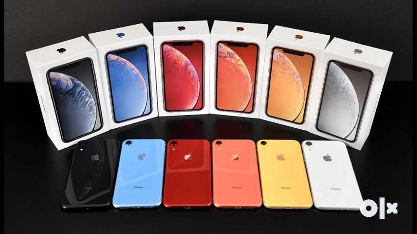 Unused I phone XR 128 GB available in COD & EMI option