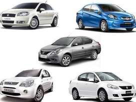 Car available for rent on km basis