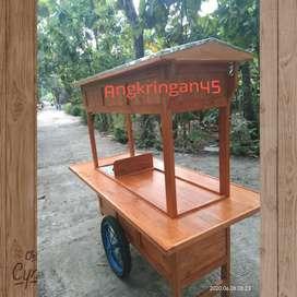 FREE ONGKIR, Gerobak Angkringan, Bayat, Terpopuler  D0187
