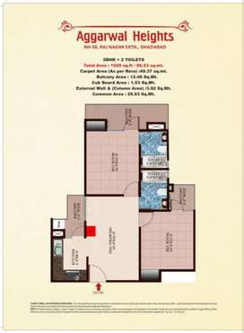 2Bhk flat in sale