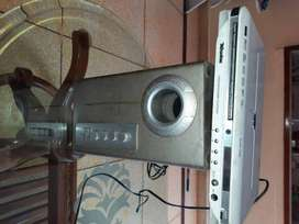 Woofar with DvD player