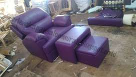 kursi pijat refleksi ungu model dakron atau kursi refleksi