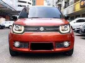 Suzuki Ignis 1.2 GX 2017 AT Merah DP 19jt *autowhiz* cek cocok angkut