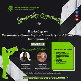 Personality Grooming with Anxiety & Stress Management
