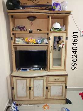 Dressing with tv stand