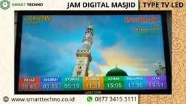 Jual Software Tipe Jam Digital Masjid TV LED