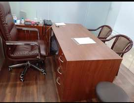Well furnished Glass chamber for specialist doctors with AC in Aliganj