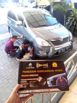 REDAM Guncangan diMobil Dg CEPAT.30menit Pasang BALANCE SPORT DAMPER