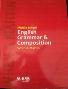 Wren And Martin Middle school English Grammar And Composition