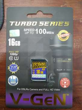 Kartu Memory V-GEN 16GB For DSLRs Camera