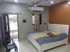 A very beautiful furnished bungalow Available for rent near Santoshi