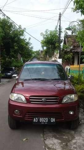 Daihatsu taruna fgx 2001 merah ad kondisi orisinil istimewa