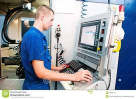 Hiring For CNC Programmer or VMC Operater