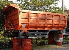 Dump truk komplit hidrolik copotan
